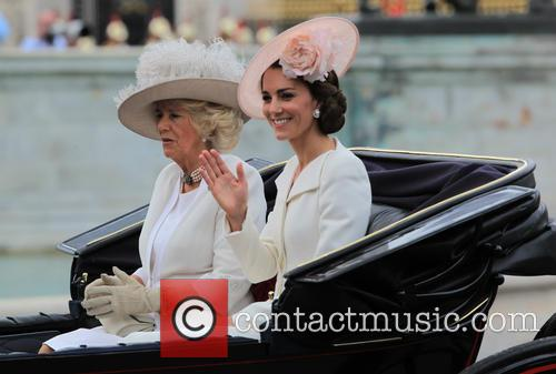 Camilla, Duchess Of Cornwall, Catherine, Duchess Of Cambridge, Kate Middleton and Catherine Middleton 7