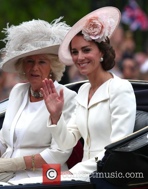 Camilla, Duchess Of Cornwall, Catherine, Duchess Of Cambridge, Kate Middleton and Catherine Middleton 8
