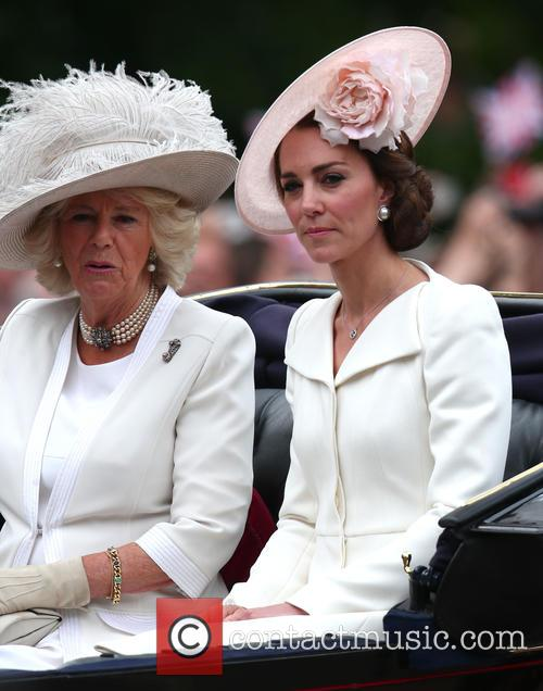 Camilla, Duchess Of Cornwall, Catherine, Duchess Of Cambridge, Kate Middleton and Catherine Middleton 9
