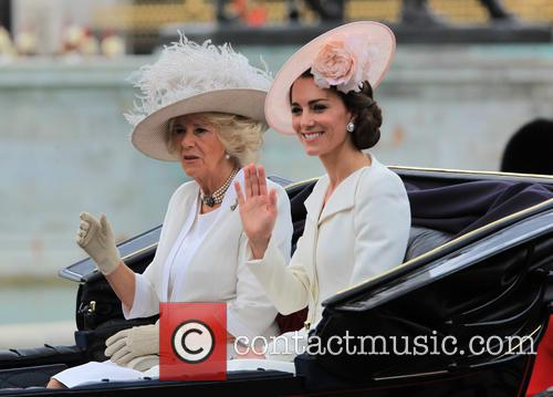 Camilla, Duchess Of Cornwall, Catherine, Duchess Of Cambridge, Kate Middleton and Catherine Middleton 11