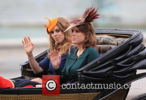 Princess Beatrice and Princess Eugenie Of York 1