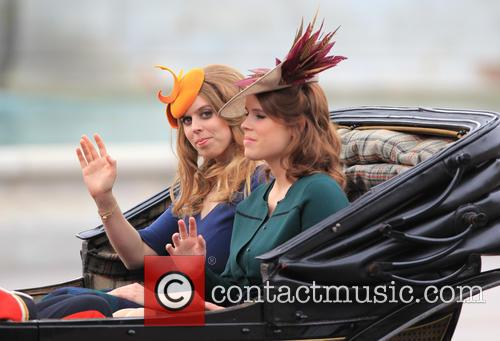 Princess Beatrice and Princess Eugenie Of York 2
