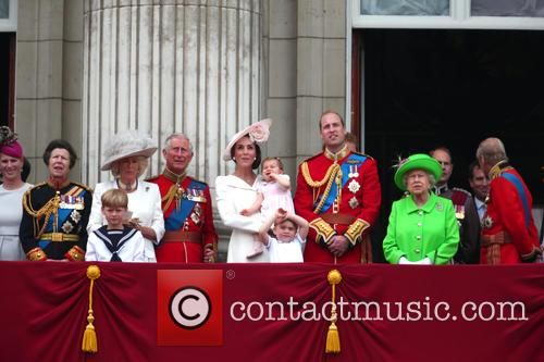 Princess Anne, Camilla, Duchess Of Cornwall, Prince Charles, Catherine, Duchess Of Cambridge, Kate Middleton, Catherine Middleton, Princess Charlotte, Prince George, Prince William, Queen Elizabeth Ii and Prince Phillip 2