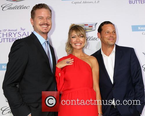Eric Dane, Rebecca Gayheart and Justin Chambers 7