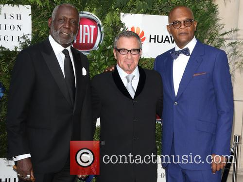 Richard Roundtree, Tico Torres and Samuel L Jackson 10