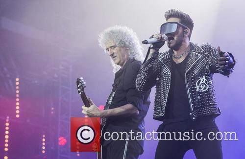 Brian May, Adam Lambert and Queen 3