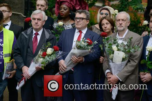 Labour leaders stand in soldarity with the London's...