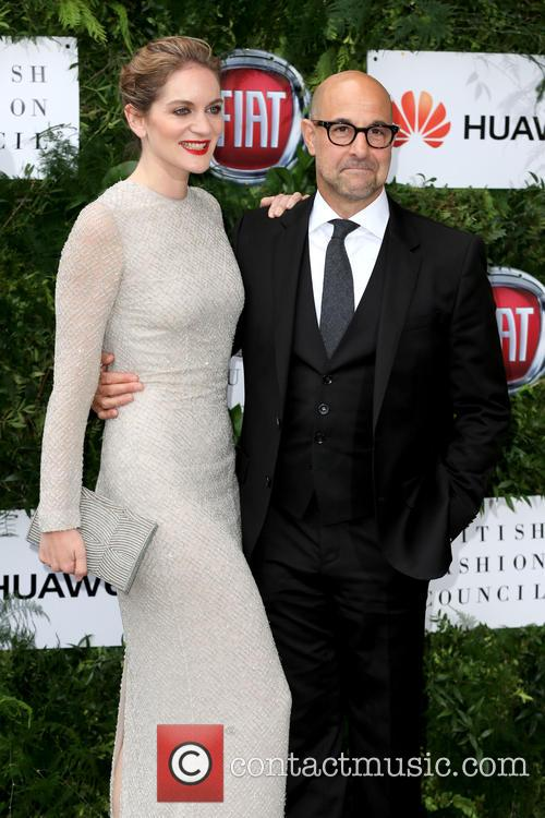 Stanley Tucci and Felicity Blunt 2