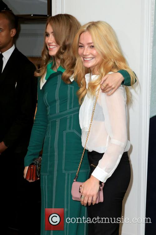 Clara Paget and Suki Waterhouse 3