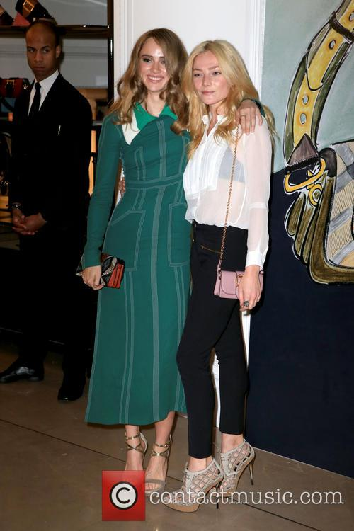 Clara Paget and Suki Waterhouse 4