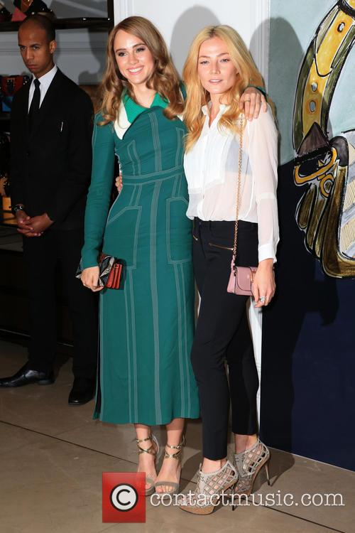 Clara Paget and Suki Waterhouse 5