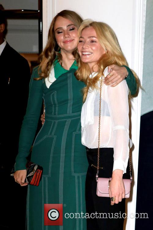 Clara Paget and Suki Waterhouse 6