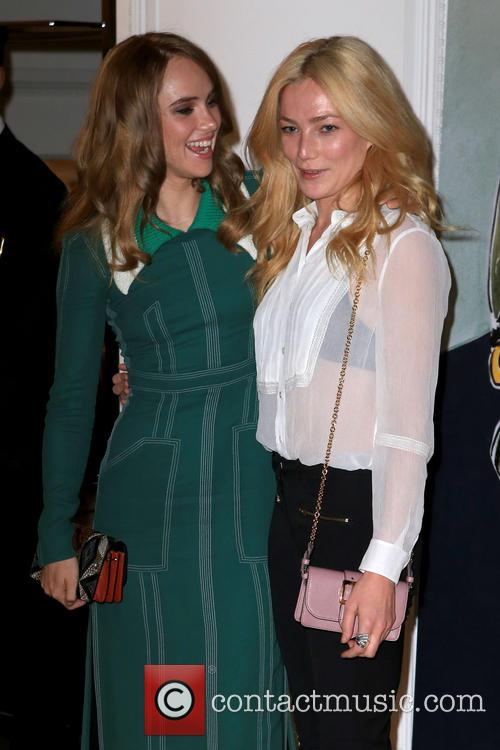 Clara Paget and Suki Waterhouse 7