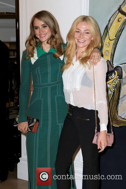 Clara Paget and Suki Waterhouse 8