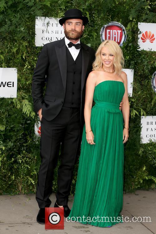 Joshua Sasse and Kylie Minogue 2