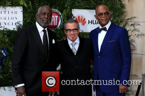Richard Roundtree, Samuel L Jackson and Tico Torres 8