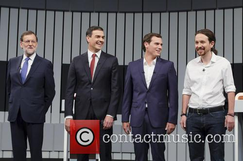 Mariano Rajoy, Pablo Iglesias, Pedro Sanchez and Albert Rivera 4