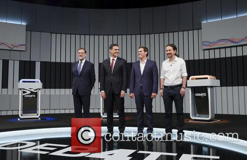 Mariano Rajoy, Pablo Iglesias, Pedro Sanchez and Albert Rivera 5
