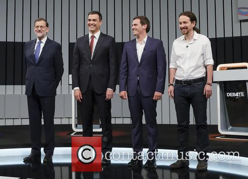 Mariano Rajoy, Pablo Iglesias, Pedro Sanchez and Albert Rivera 6