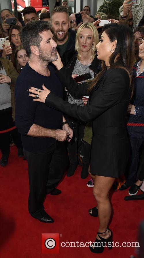 Simon Cowell and Nicole Scherzinger 2