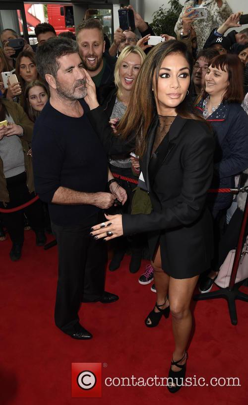 Simon Cowell and Nicole Scherzinger 8