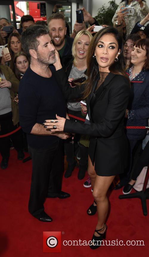 Simon Cowell and Nicole Scherzinger 9