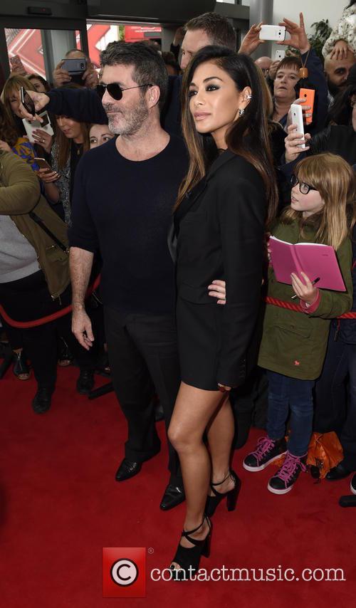 Simon Cowell and Nicole Scherzinger