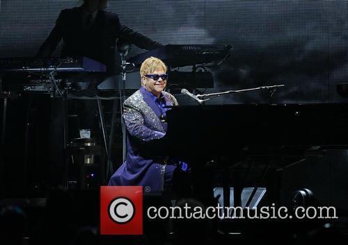 Elton John performs at Echo Arena Liverpool