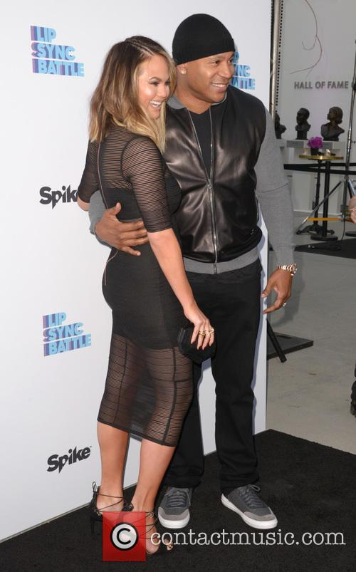 Chrissie Teigen and Ll Cool J 10