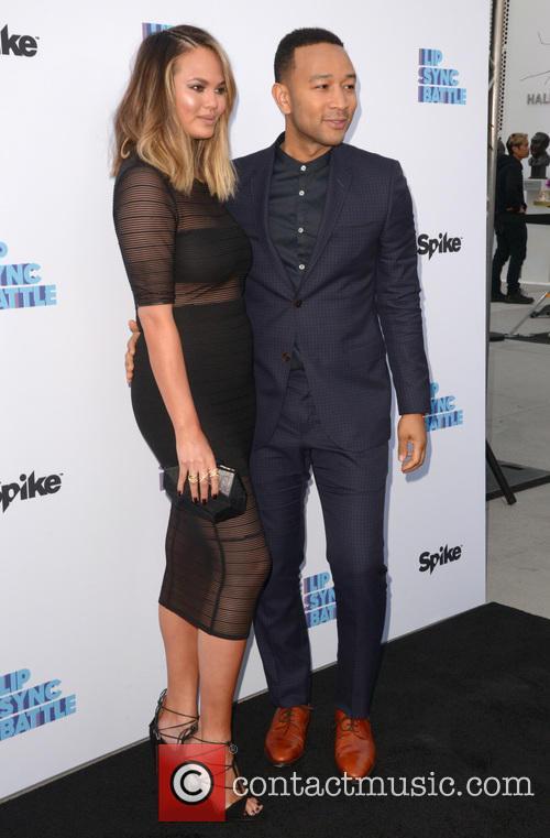 Chrissie Teigen and John Legend