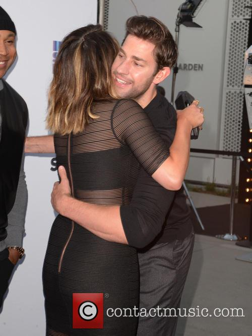 Chrissy Teigen and John Krasinski