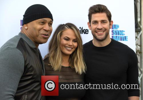 Ll Cool J, Chrissy Teigen and John Krasinski 9