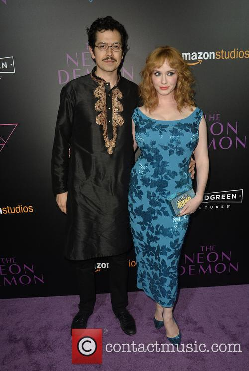 Geoffrey Arend and Christina Hendricks 1