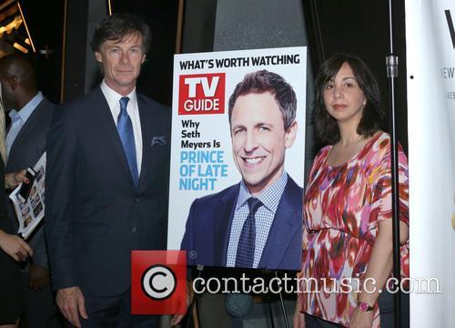 Seth Meyers, Paul Turcotte and Nerina Rammairone 3