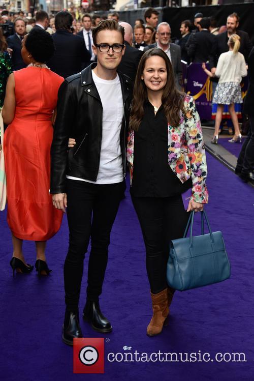 Tom Fletcher and Giovanna Fletcher