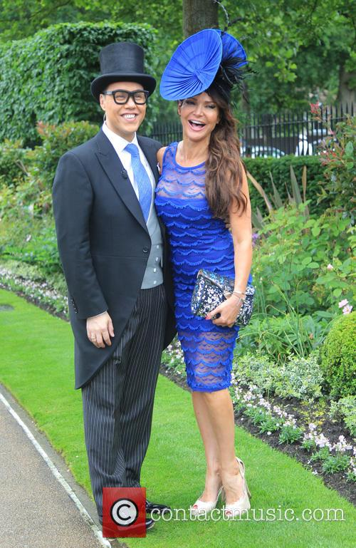 Gok Wan and Lizzie Cundy 1