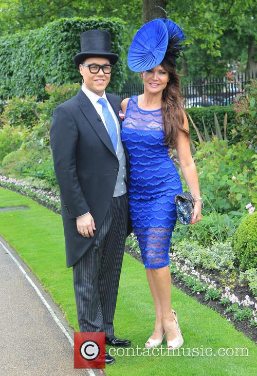 Gok Wan and Lizzie Cundy 2