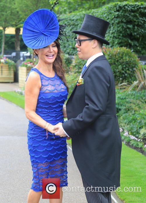 Gok Wan and Lizzie Cundy 4