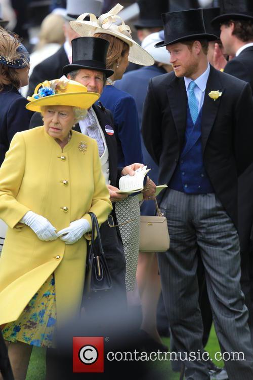 Prince Harry and Queen Elizabeth 10