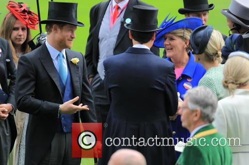 Prince Harry and Clare Balding