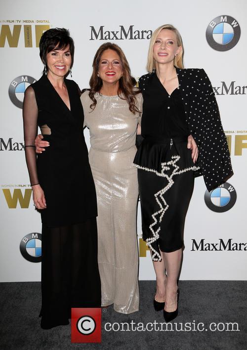 Hylda Queally, Cathy Schulman and Cate Blanchett 1