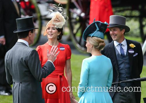 Princess Mary Of Denmark, Crown Prince Frederik and Sophie Countess Of Wessex 1
