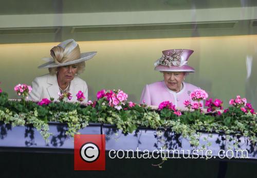 Queen Elizabeth Ii and Camilla Duchess Of Cornwall 1