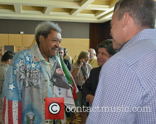 Don King and Mayor Martin Kiar 2