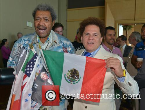 Don King and Romero Britto 4