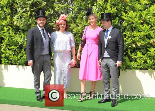 Anthony Mcpartlin, Lisa Armstrong, Declan Donnelly and Ali Astall 6