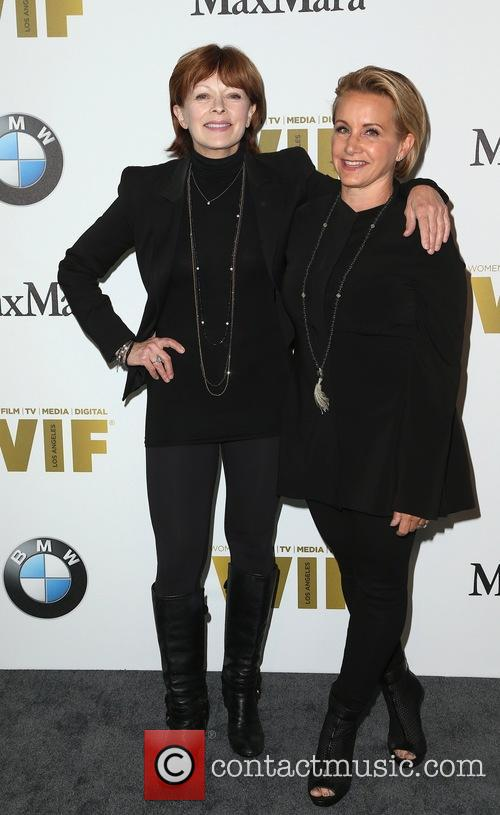 Frances Fisher and Gabrielle Carteris 1