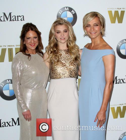 Women In Film President Cathy Schulman, Natalie Dormer and Max Mara Brand Ambassador Nicola Maramotti 1