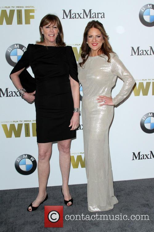 Jane Rosenthal and Women In Film President Cathy Schulman 9