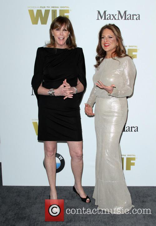 Jane Rosenthal and Women In Film President Cathy Schulman 10